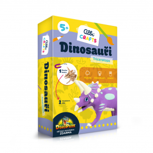 Dinosaury - Triceratops - Albi Crafts